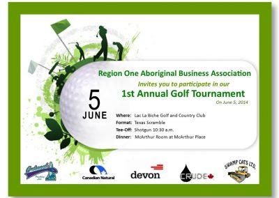 1st Annual ROABA Golf Tournament 2014