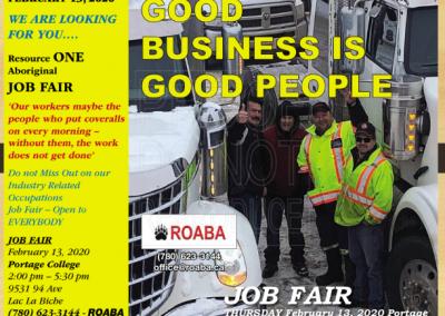 Resource ONE Aboriginal Job Fair